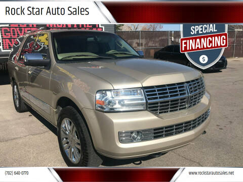 2008 Lincoln Navigator for sale at Rock Star Auto Sales in Las Vegas NV