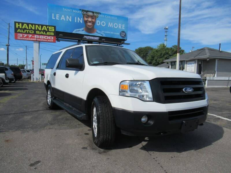 2012 Ford Expedition EL for sale at Hanna's Auto Sales in Indianapolis IN