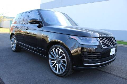 2018 Land Rover Range Rover for sale at Vantage Auto Wholesale in Lodi NJ