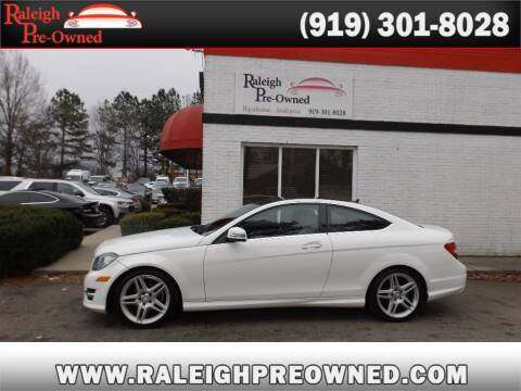 2014 Mercedes-Benz C-Class for sale at Raleigh Pre-Owned in Raleigh NC