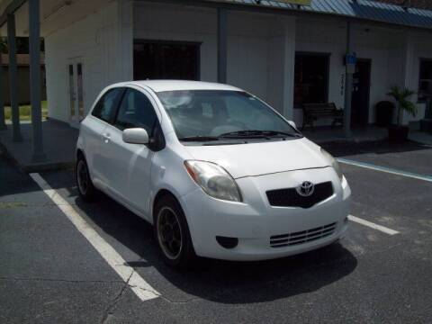 2008 Toyota Yaris for sale at LONGSTREET AUTO in St Augustine FL
