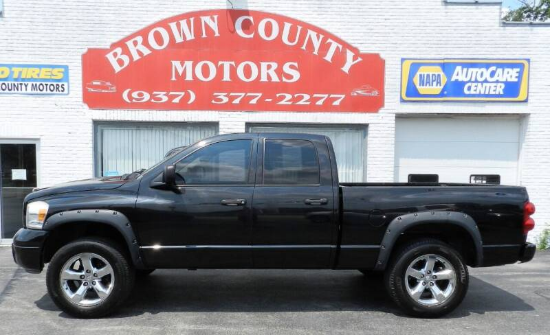 2008 Dodge Ram Pickup 1500 for sale at Brown County Motors in Russellville OH