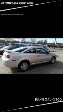 2005 Chevrolet Cobalt for sale at AFFORDABLE USED CARS in Richmond VA