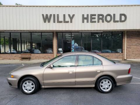 2003 Mitsubishi Galant for sale at Willy Herold Automotive in Columbus GA