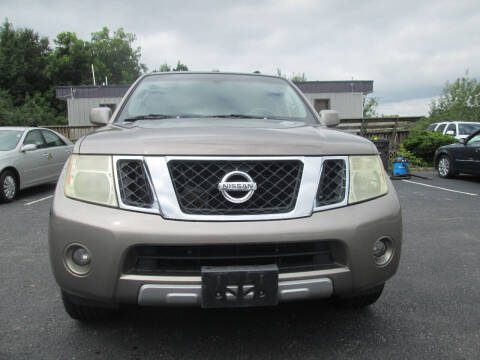2008 Nissan Pathfinder for sale at Olde Mill Motors in Angier NC
