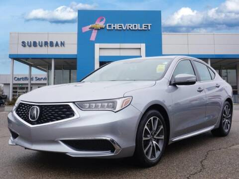2018 Acura TLX for sale at Suburban Chevrolet of Ann Arbor in Ann Arbor MI