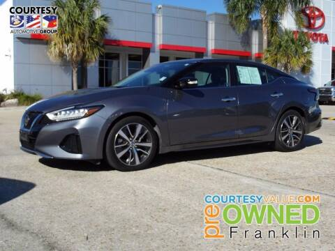 2020 Nissan Maxima for sale at Courtesy Toyota & Ford in Morgan City LA