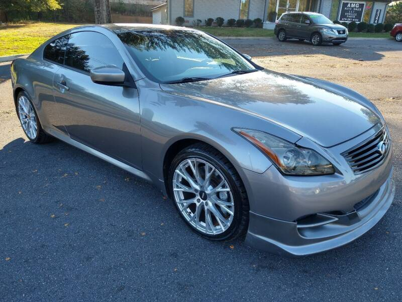 2009 Infiniti G37 Coupe for sale at AMG Automotive Group in Cumming GA