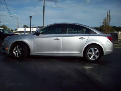 2014 Chevrolet Cruze for sale at Whitney Motor CO in Merriam KS