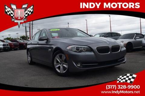 2012 BMW 5 Series for sale at Indy Motors Inc in Indianapolis IN