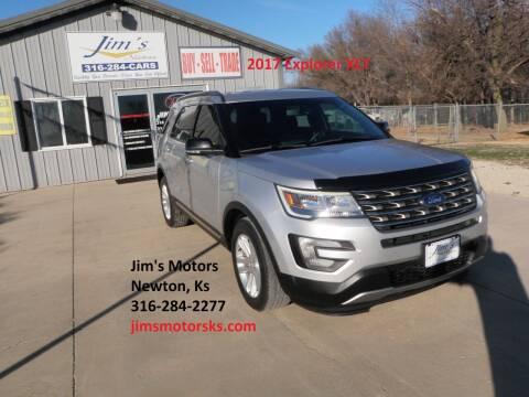 2017 Ford Explorer for sale at Jim's Motors in Newton KS