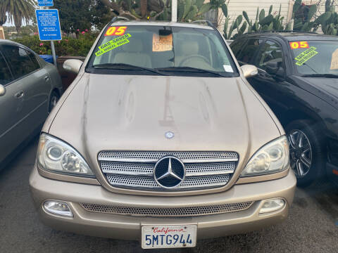 2005 Mercedes-Benz M-Class for sale at North County Auto in Oceanside CA