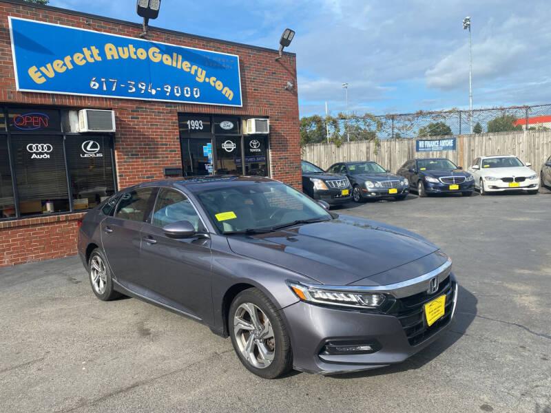 2018 Honda Accord for sale at Everett Auto Gallery in Everett MA