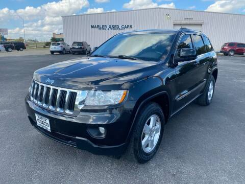 2013 Jeep Grand Cherokee for sale at MARLER USED CARS in Gainesville TX