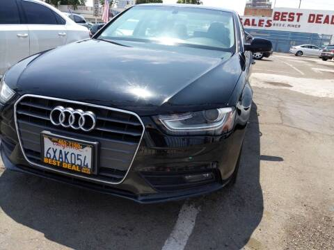 2013 Audi A4 for sale at Best Deal Auto Sales in Stockton CA