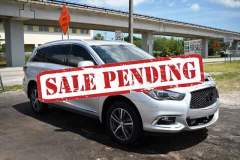 2018 Infiniti QX60 for sale at ELITE MOTOR CARS OF MIAMI in Miami FL