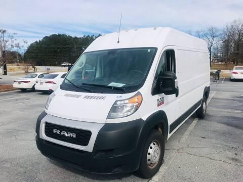 2020 RAM ProMaster Cargo for sale at Atlanta Motor Sales in Loganville GA
