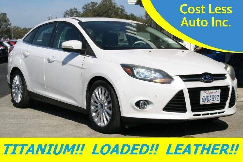 2012 Ford Focus for sale at Cost Less Auto Inc. in Rocklin CA