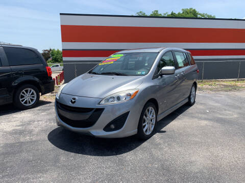 2012 Mazda MAZDA5 for sale at Credit Connection Auto Sales Dover in Dover PA