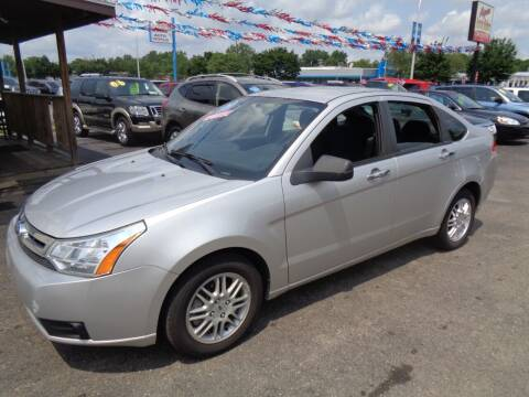 2011 Ford Focus for sale at Aspen Auto Sales in Wayne MI
