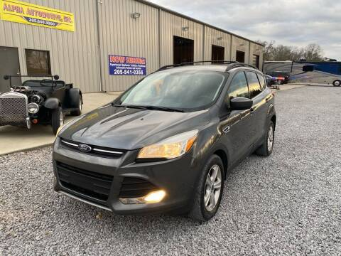 2016 Ford Escape for sale at Alpha Automotive in Odenville AL