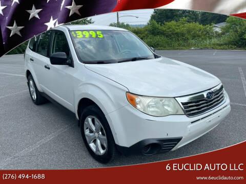2009 Subaru Forester for sale at 6 Euclid Auto LLC in Bristol VA