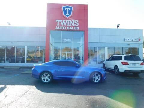 2018 Chevrolet Camaro for sale at Twins Auto Sales Inc Redford 1 in Redford MI