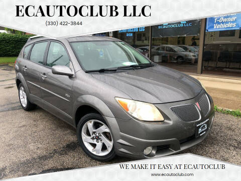 2005 Pontiac Vibe for sale at ECAUTOCLUB LLC in Kent OH