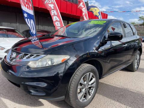 2012 Nissan Murano for sale at Duke City Auto LLC in Gallup NM