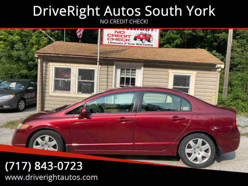 2007 Honda Civic for sale at DriveRight Autos South York in York PA