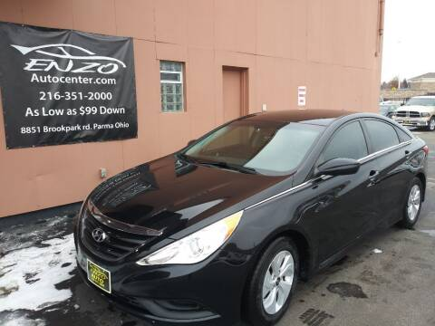 2014 Hyundai Sonata for sale at ENZO AUTO in Parma OH