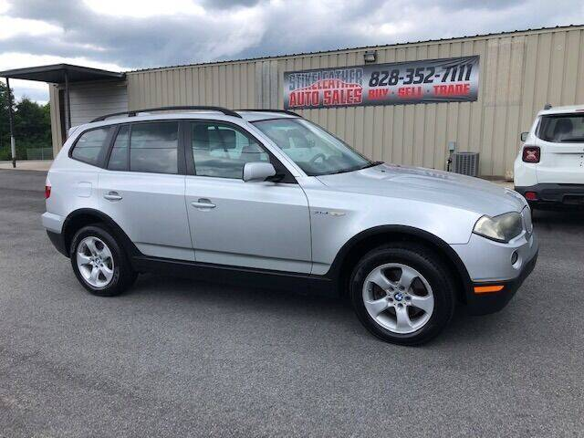 2007 BMW X3 for sale at Stikeleather Auto Sales in Taylorsville NC