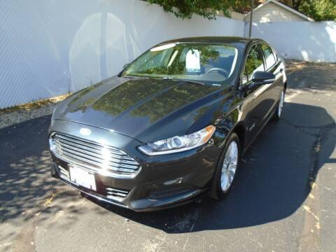 2014 Ford Fusion Hybrid for sale at Jeffrey Motors in Kenosha WI