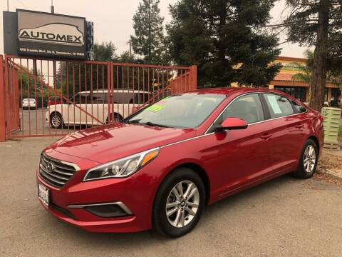2017 Hyundai Sonata for sale at AUTOMEX in Sacramento CA