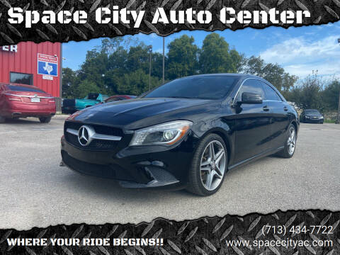 2014 Mercedes-Benz CLA for sale at Space City Auto Center in Houston TX