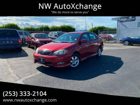 2006 Toyota Corolla for sale at NW AutoXchange in Auburn WA