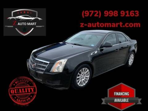 2011 Cadillac CTS for sale at Z AUTO MART in Lewisville TX