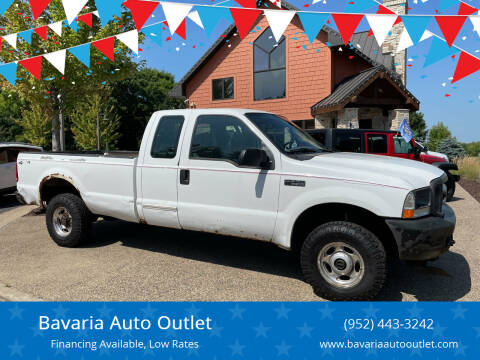 2004 Ford F-250 Super Duty for sale at Bavaria Auto Outlet in Victoria MN