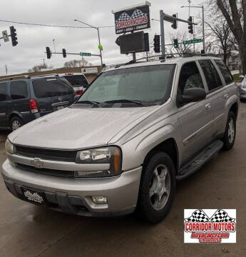 2004 Chevrolet TrailBlazer for sale at Corridor Motors in Cedar Rapids IA