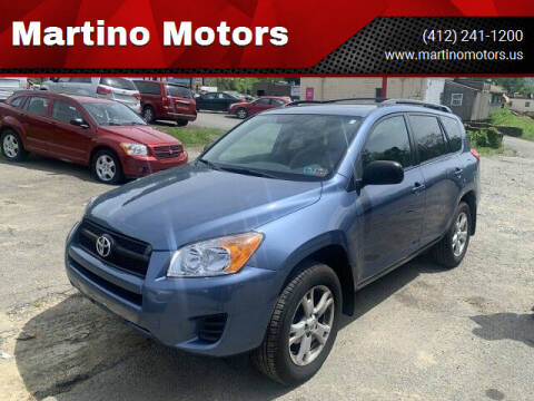2011 Toyota RAV4 for sale at Martino Motors in Pittsburgh PA