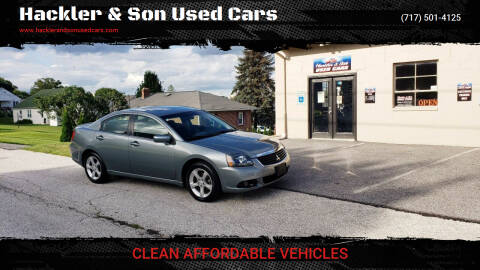 2009 Mitsubishi Galant for sale at Hackler & Son Used Cars in Red Lion PA