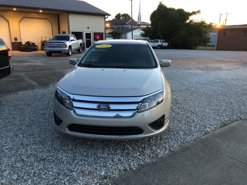 2010 Ford Fusion for sale at ADKINS PRE OWNED CARS LLC in Kenova WV