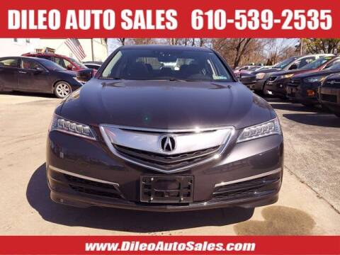 2016 Acura TLX for sale at Dileo Auto Sales in Norristown PA