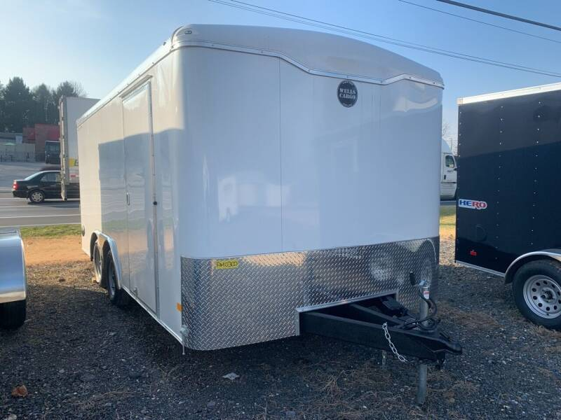 2021 Wells Cargo Road Force 8.5x16 for sale at Smart Choice 61 Trailers in Shoemakersville PA