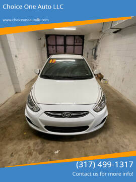 2017 Hyundai Accent for sale at Choice One Auto LLC in Beech Grove IN