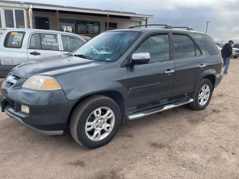 2006 Acura MDX for sale at PYRAMID MOTORS - Fountain Lot in Fountain CO