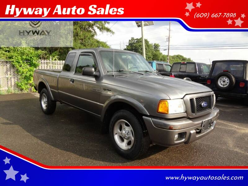 2004 Ford Ranger for sale at Hyway Auto Sales in Lumberton NJ
