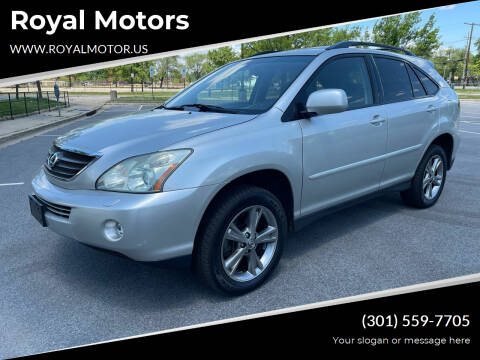 2006 Lexus RX 400h for sale at Royal Motors in Hyattsville MD