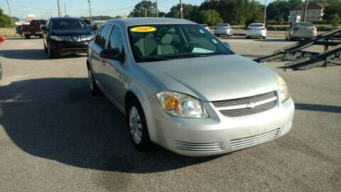 2007 Chevrolet Cobalt for sale at Kelly & Kelly Supermarket of Cars in Fayetteville NC