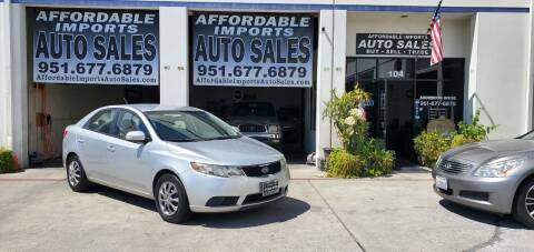 2010 Kia Forte for sale at Affordable Imports Auto Sales in Murrieta CA